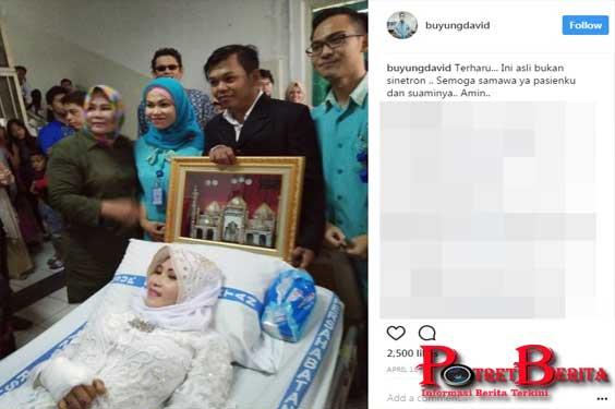 Menyedihkan, Unggah Foto Pernikahan Pasien Di Rumah Sakit, Seorang Dokter Bikin Haru Dunia