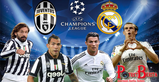 Prediksi Final Liga Champions Juventus VS Real Madrid