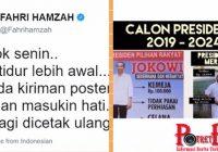 VIRAL! Fahri Hamzah Share Perbandingan Jokowi dan Habieb Rizieq Dengan HARGA