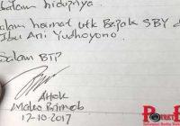 Agus Yudhoyono Ke Mako Brimob Untuk Ucapkan Terima Kasih Kepada Ahok