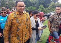 Datang Terlambat, Anies Bandingkan Kemacetan Di Puncak Dengan Jakarta