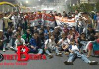 Ribuan Mahasiswa Demo, STM Pun Join Demo
