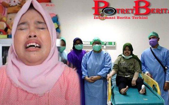 Diinjak Sapi, Kekeyi Langsung Dilarikan ke Rumah Sakit
